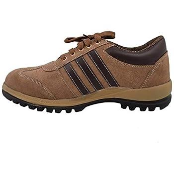 Neosafe A5008_8 Sporty PVC Safety Shoes, Size 8, Brown