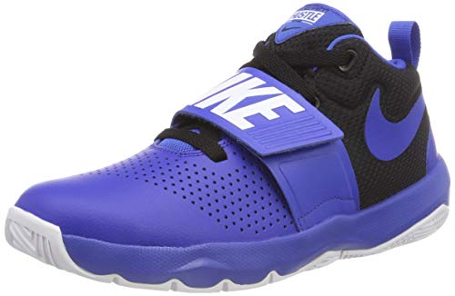 Nike Team Hustle D 8 (GS), Zapatos de Baloncesto para Niños, Azul Game Royal/Black/WH 405, 37.5 EU