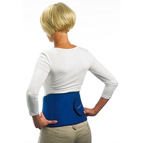 Tourma-Therm Lendenbandage - stützt und wärmt - mit Turmalin-Kristallen zur Schmerzminderung durch Tiefenwärme, Universalgröße