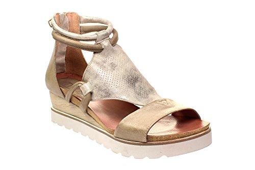 Mjus 221036 0101 - Damen Schuhe Sandaletten - 0006-fossile-opale, Größe:36 EU