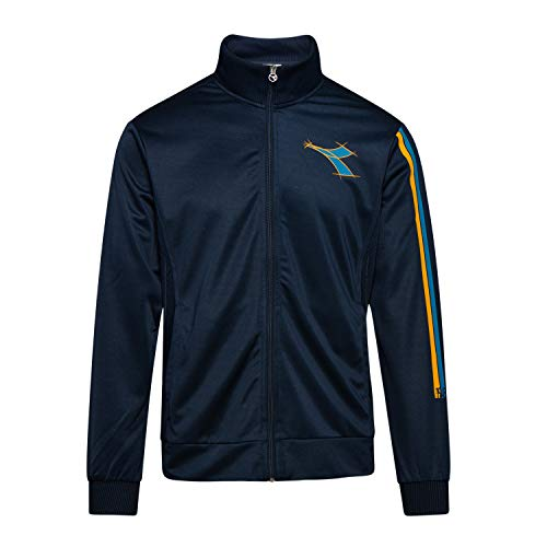 Diadora - Felpa Track Jacket FREGIO per Uomo (EU XL)