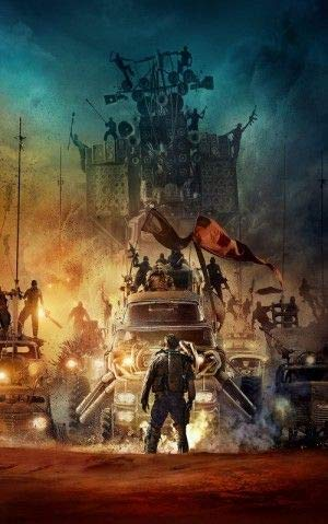 Mad MAX : Fury Road - Tom Hardy - US Textless Imported Movie Wall Poster Print - 30CM X 43CM
