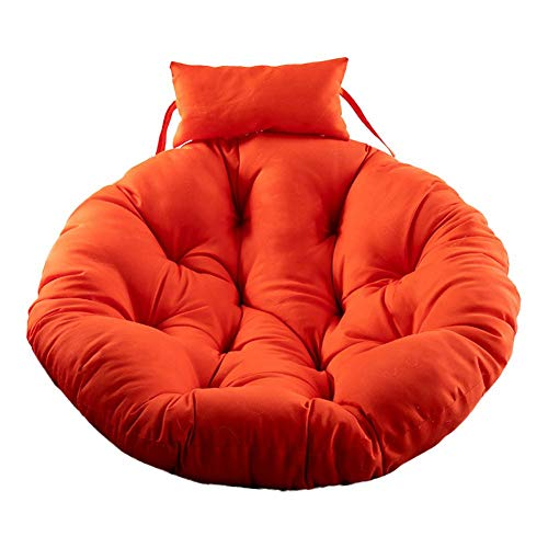 Rvest Hanging Chair Cushion, Rocking Chair Seat Cushion, Hanging Chair Cushion, Skin-friendly Soft Swing Chair Cushion for Indoor Balcony (Cushion,No Chair)