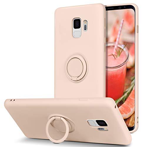powerful BENTOBEN Slim Silicone Case for Samsung Galaxy S9 | 360 ° Ring Holder Stand | Car Holder |…