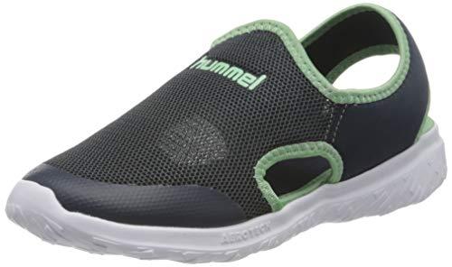 Hummel Unisex-Kinder Playa Actus Jr Sneaker Niedrig, Blau (Blue Nights 7429), 30 EU