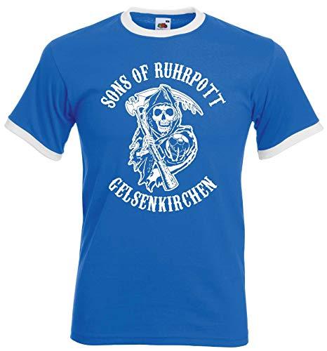 Sons of Ruhrpott Gelsenkirchen Herren Retro Ultras