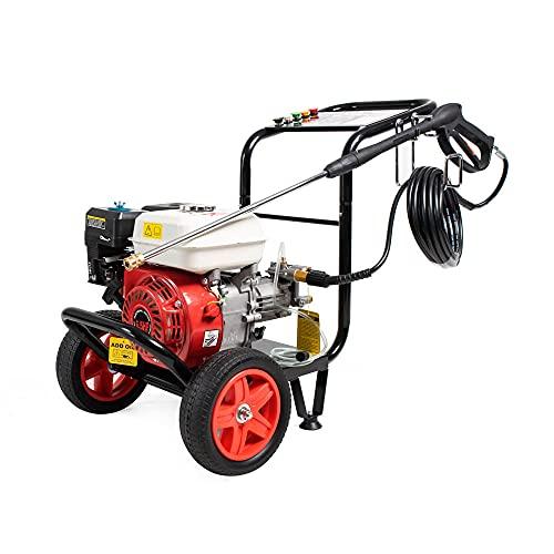 AMC Idropulitrice alta pressione a scoppio motore ohv a benzina da 6,59 Cv di potenza...