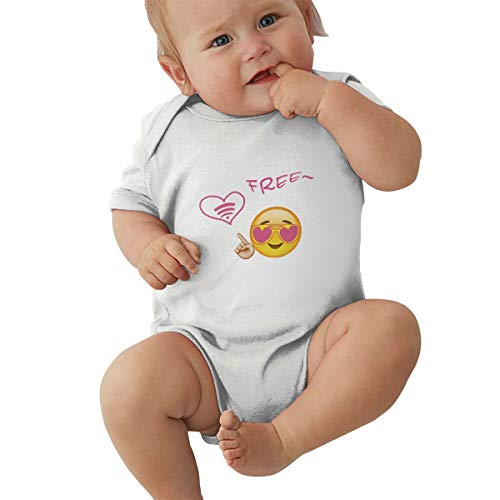 Emojis WiFi Smile Pictures Copy and Paste Baby Jersey Bodysuit Cotton Bodysui