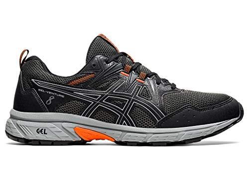 ASICS Men's Gel-Venture 8 Running Shoe, 10, Black/Sheet Rock