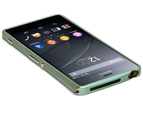 アルミニウムバンパーケース DECASE for Xperia Z3 【SO-01G/SOL26/SoftBank/シムフリー対応】 (カッパー)