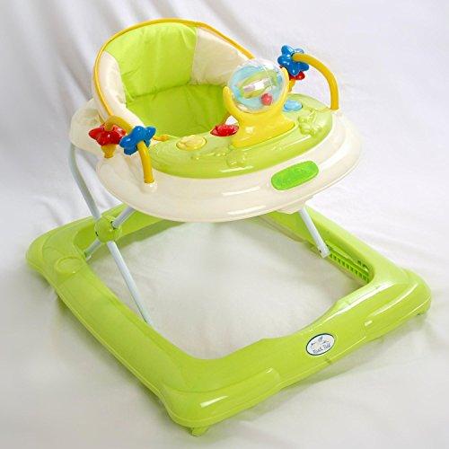 Andador para bebé, diseño estrella verde. Andador de actividades o tacatá