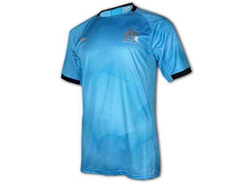 PUMA Tee-Shirt de Football Olympique de Marseille Graphic Jersey