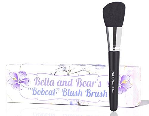 Bella And Bear Blush Brush  Angled For Highlighting  Bronzing  Scultping amp Contouring  Vegan