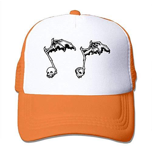 AOHOT Herren Damen Baseball Caps,Hüte, Mützen, Classic Baseball Cap, Skull Music Note Fashion Baseball Cap-Polo Style