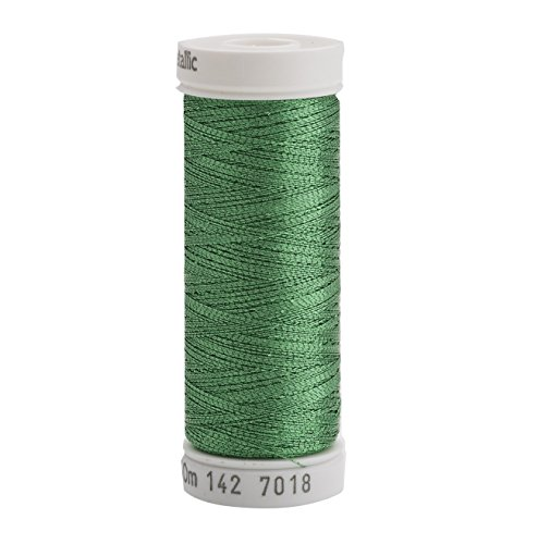 Sulky 142-7018 Metallic Thread for Sewing, Christmas Green