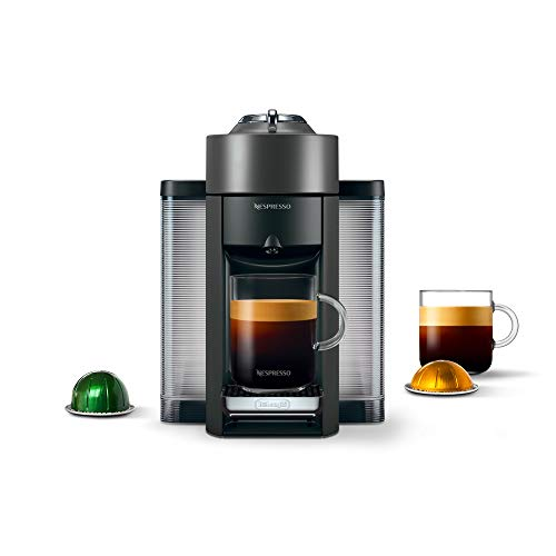 Nespresso Vertuo Coffee and Espresso Machine by DeLonghi, Graphite Metal