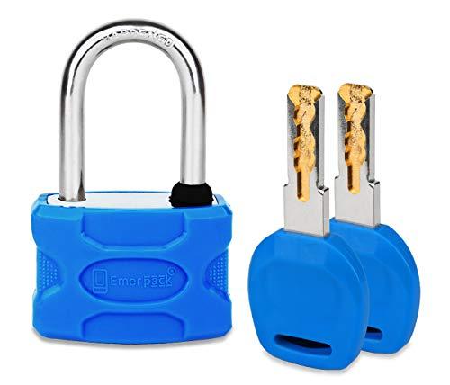 Candado con Llave de Corte Laser de Alta Seguridad/Candados Antirrobo Para Taquilla...
