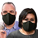 Purian XL Face Mask for Men & Women| Triple Layer Cotton Face Mask | Extra Large Mask | 2 Pack