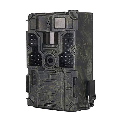 Yangeryang. Jagd-Hinterkamera LW16M 130-Grad-Weitwinkelobjektiv IP56 Wasserdicht 16MP 1080P HD-Infrarot, Mit 2,0-Zoll-LCD-Display, Unterstützung SD-Karte (maximal 32 GB)