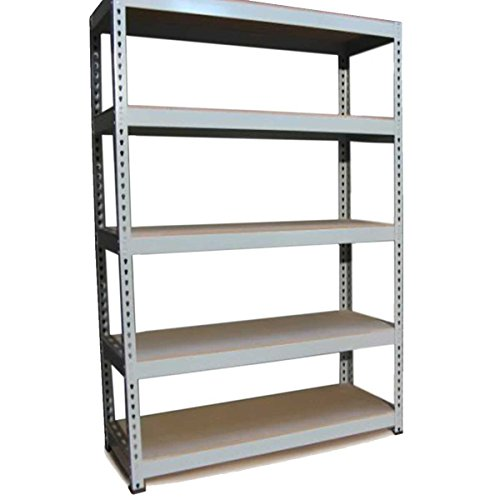 Garage Shelving / 120cm Grey Shed Shelves/Extra Wide Warehouse Storage Racking