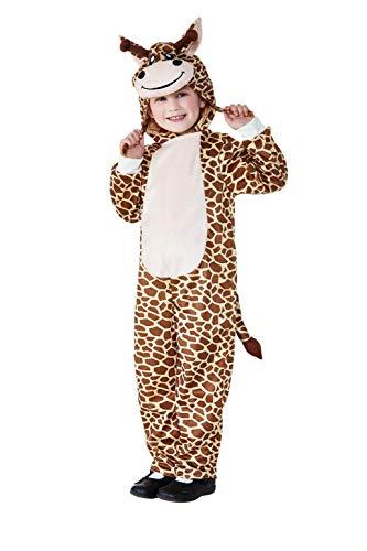 Smiffys 47753T1 - Disfraz infantil de jirafa, unisex