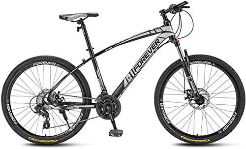 Bicicletas bicicleta 26 pulgadas, llantas, fuera del camino de la bicicleta, de alto carbón del marco de acero, con amortiguador de la horquilla delantera, doble freno de disco, bicicletas de carreter