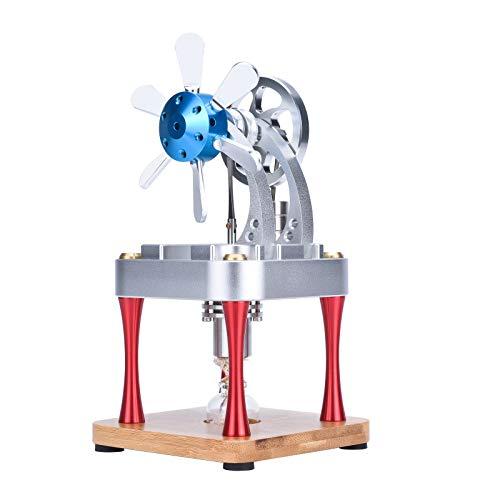 DAN DISCOUNTS Motor Stirlingmotor Stirling Engine, motor Stirling refrigerado por aire, juguete educativo para adultos y niños