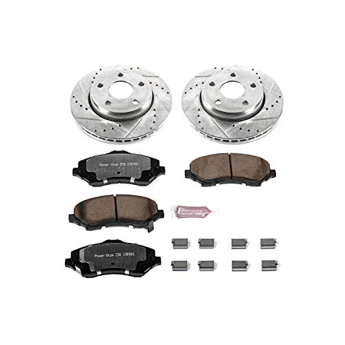 Power Stop K3097-36 Z36 Truck & Tow Front Brake Kit