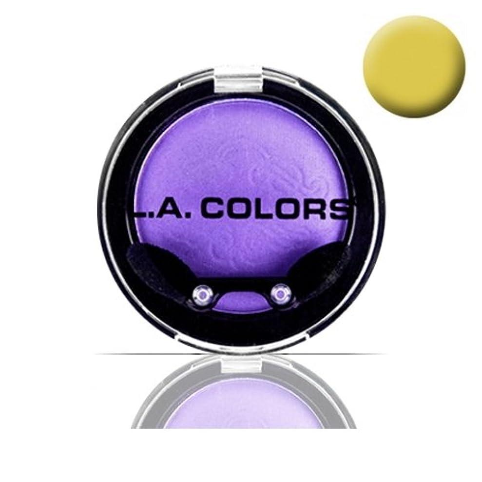 鼓舞する招待冷淡な(3 Pack) LA COLOR Eyeshadow Pot - Sunshine (並行輸入品)