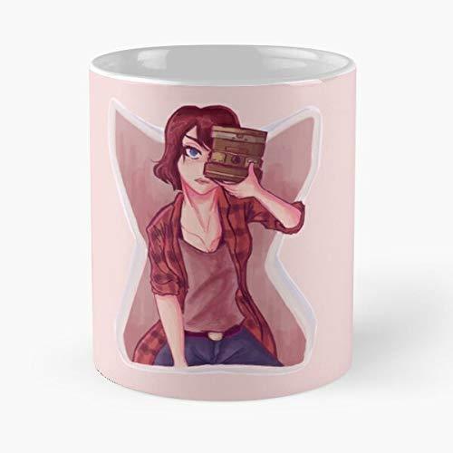 Fan Life Kind Max Camera Rewind Work Strange Caulfield Lis Is Art Maxine Be The best 11oz White marble ceramic coffee mug