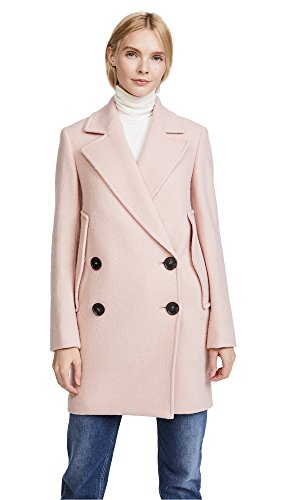 PINK Wool Coat for Women