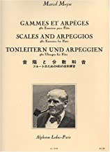 Marcel Moyse: Scales and Arpeggios