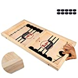 Fast Sling Puck Game ,Slingshot Games Toy,Paced Winner Board Games Toys for Kids & Adults (14.48.5in)