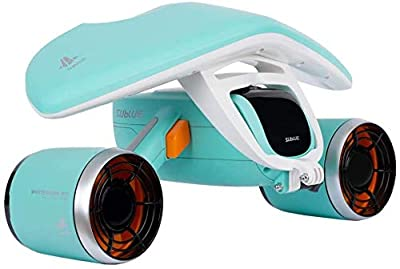 sublue WhiteShark Mix Underwater Scooter Dual Motors, Action Camera Compatible, Water Sports for Kids/Adults