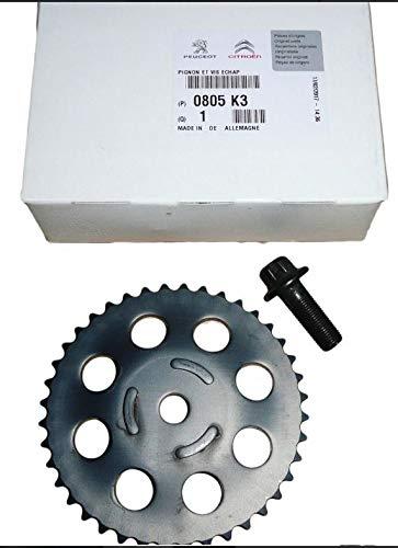 Piñón de eje para levas y tornillos PSA 3008 A0805K3