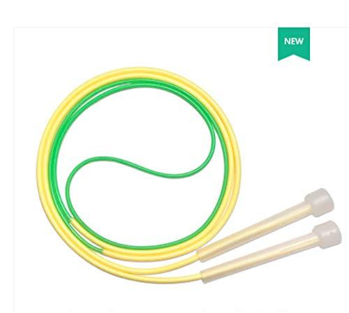Seilhüpfen, verstellbares Seilhüpfen, sehr geeignet für schnelle Bewegung Matrize, Springen, Erwachsene, Höhe mehr als 1,7 Meter (Yellow)