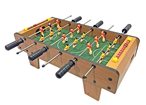 Popsugar - THXJ6025 Mini Foosball Table Football Game Table Toy for Kids, Multicolor