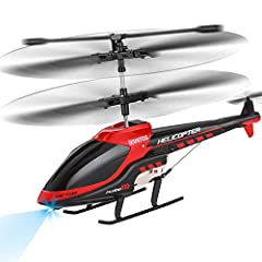 MILITARY SERIES RC HELICOPTER-- Cool gray color makes the military series RC Helicopter mysterious and advanced. Perfect remote control helicopter for military enthusiast. LIGHT-WEIGHT & DURABLE WITH WIDE INFRARED CONTROL -- This creative infrared in...
