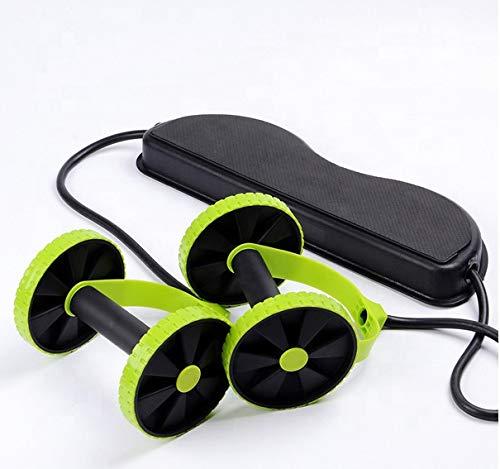 Manogyam Revoflex Xtreme Multifunction Pull Rope Wheeled Health Abdominal Muscle Training Home Fitness Equipment for Man Woman.