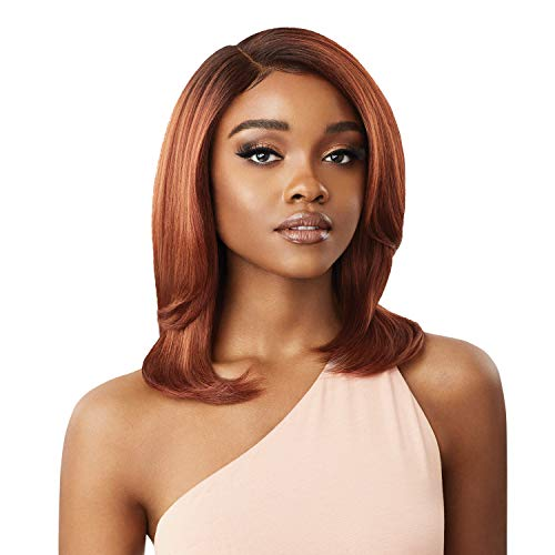 Outre Synthetic Melted Hairline Swiss Lace Front Wig - SABRINA (DR4/SDBL)
