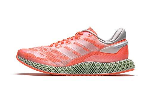 adidas Mens 4D Run 10 Cloud WhiteSignal Coral FW6838
