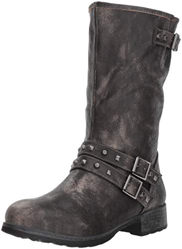 Dirty Laundry by Chinese Laundry Women's Talia Motorcycle Boot, Black, 7.5 M US
