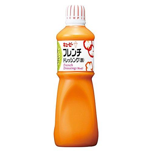 【常温】 キユーピー フレンチドレッシング (赤) 1L 業務用 ドレッシング