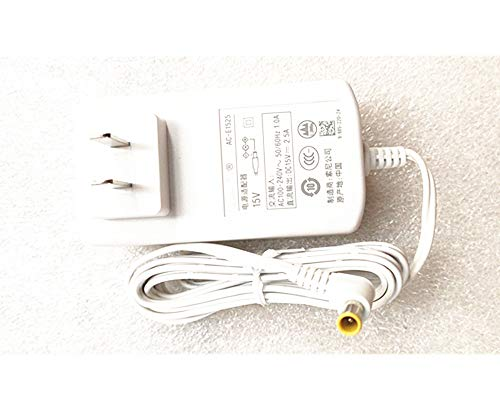 MAXROB Replacement Charger AC Adapter for Sony SRS-XB3 SRS-XB30 AC-E1525 15V Speaker Power Supply White