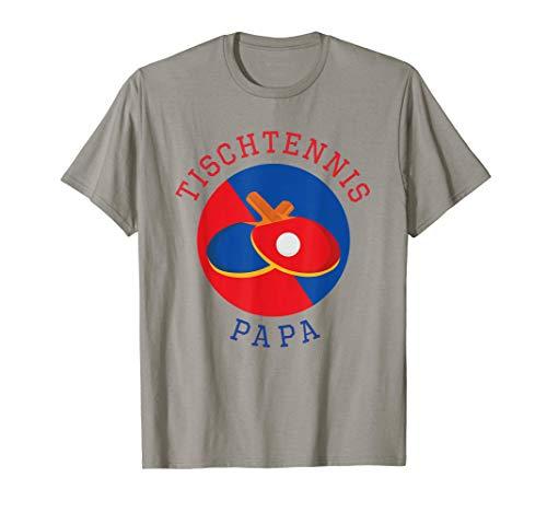 Herren Tischtennis Papa | Tischtennisschläger | Ping Pong T-Shirt