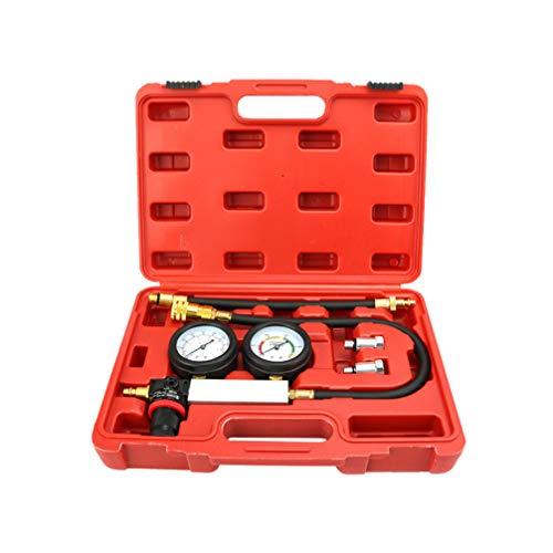 Vosarea set di strumenti diagnostici per la prova della pressione dell'olio motore con custodia adattatori tester per cilindro motore adattatore adattatore di avvertenza olio basso