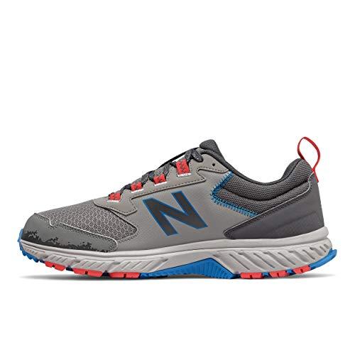 New Balance Men's 510 V5 Trail Running Shoe, Marblehead/Magnet, 8.5 XW US
