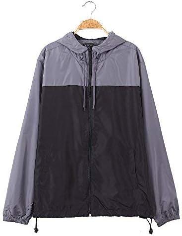 Men's Drawsing Coat Silm fit long sleeve Lightweight School Waterproof Trenchcoat