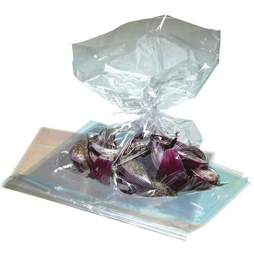 Kitchen Craft KCROASTBAG Set de 5 Sacs à Rôtir, Plastique, Transparent, 20 cm