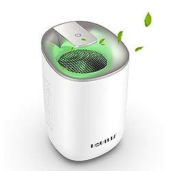 Image of 2020 Electric Mini Dehumidifier, 1500Cubic Feet (170 sq ft) Portable and Compact 600ml( 20 oz) Capacity Quiet Small Dehumidifier for Basement, Home, Bedroom, Bathroom, Gunsafe, RV, Garage, Caravan: Bestviewsreviews